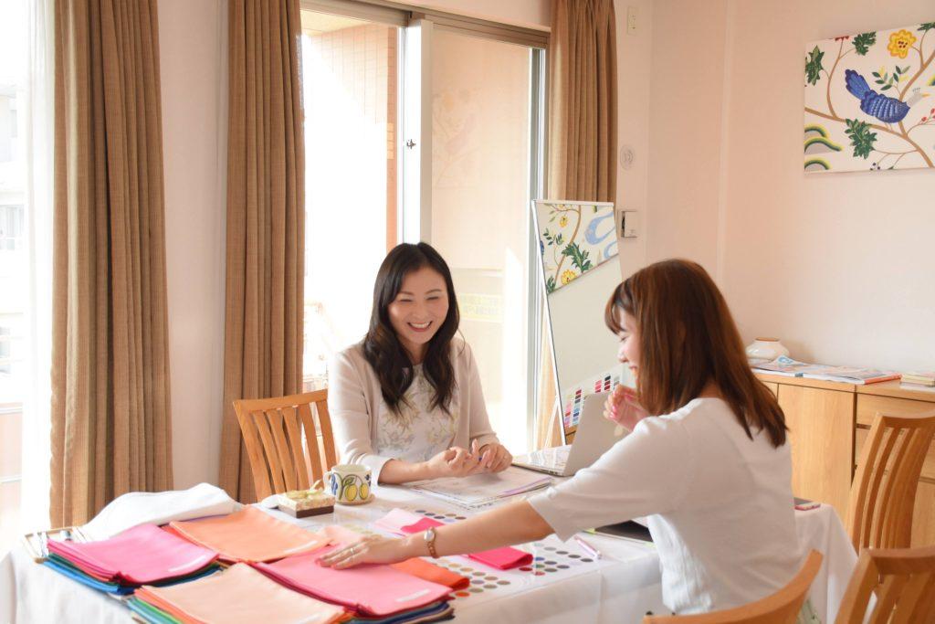 東京・品川のパーソナルカラー診断・骨格診断