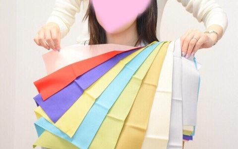 『自分でもどの色がしっくりくるかわかり、楽しかったです』静岡からのお客様♪