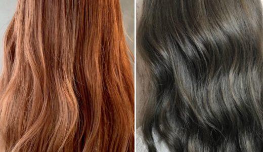似合うヘアカラーとオレンジ味や赤味を消す方法は?